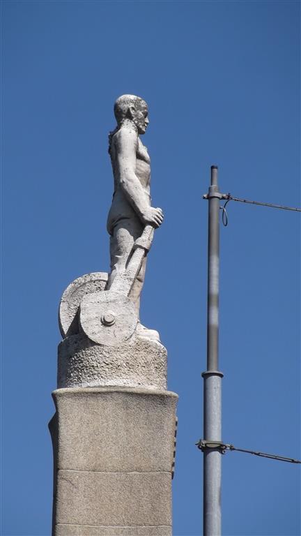 standbeeld in Zuid