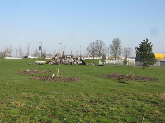 nieuwe bomen bijlmerpark